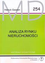 ANALIZA RYNKU NIERUCHOMOŚCI - HENRYK GAWRON